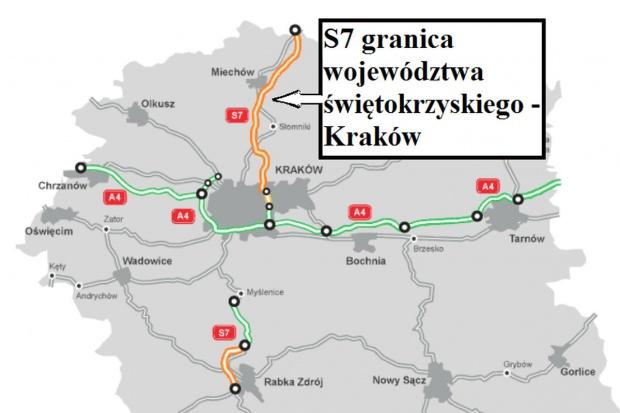 Wiadomo, kto chce budować S7 z Krakowa w stronę Warszawy
