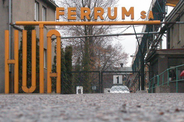 Ferrum o ogłoszeniu upadłości układowej przez HW Pietrzak Holding