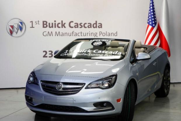 Z fabryki Opla w Gliwicach wyjechał pierwszy Buick - na rynek USA