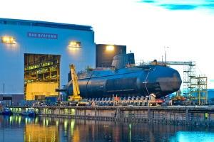 Brytyjczycy zamówili piąty okręt podwodny od BAE Systems