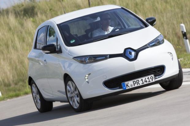 Inteligentne ładowanie elektrycznych Renault w Niemczech