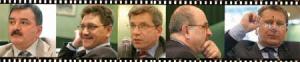 Od lewej: Cezary Lewandowski – PERN, Paweł Maślakiewicz - Lurgi Bipronaft, Jacek Wróblewski - Polska Organizacja Przemysłu i Handlu Naftowego, Aleksander Wasilewski - Ministerstwo Spraw Zagranicznych, Sławomir Golonka - PKN Orlen