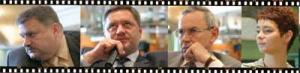 Od lewej: Krzysztof Żyndul - Nafta Polska SA, Janusz Wiśniewski - PKN Orlen, Zenon Hryń – Fluor, Daria Kulińska -  MOL