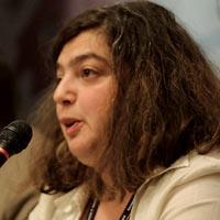 Marina Łużykowa z Fundacji Regionalnych Badań Strategicznych w Moskwie