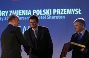 Od lewej Artur Wilza, HP Polska, Andrzej Kosturek, Winuel i Artur Dzik, Impel