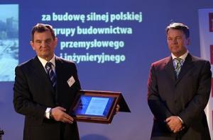 Od lewej Konrad Jaskóła, prezes Zarządu Polimex-Mostostal Siedlce i Zbigniew Jakubas, Multico