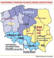 Proponowana struktura polskiego sektora energetycznego