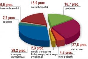 Struktura rynku leasingu w Polsce w 2005 r.