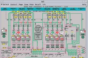System Ovation pozwala m.in. monitorować obieg wody chłodzącej w elektrowni.