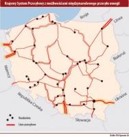 Krajowy System Przesyłowy  z możliwościami międzynarodowego przesyłu energii