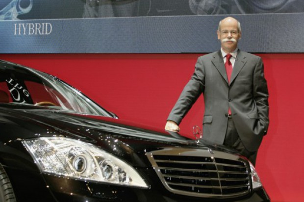 Daimler tnie dywidendę mimo większego zysku
