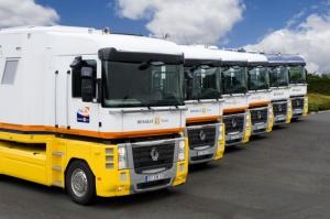 Każdy z zestawów po odbyciu rocznej służby w F1, zostanie odsprzedany firmie transportowej, która będzie miała ochotę na pozyskanie pojazdu o takiej przeszłości.