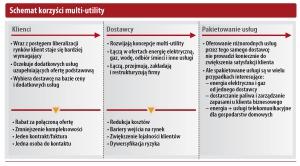 Schemat korzyści multi-utility