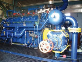 Silnik tłoczni gazu typu Waukesha o mocy 755 Kw