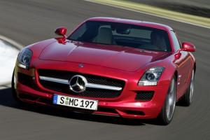 """Mercedes-Benz SLS AMG, czyli """"Gullwing"""""""
