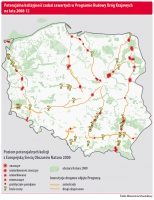 Potencjalna kolizyjność zadań zawartych w Programie Budowy Dróg Krajowych na lata 2008-12