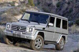 Klasa G 33 lata temu powstała jako rasowa terenówka. Dziś łączy luksus i możliwości / foto: Mercedes-Benz