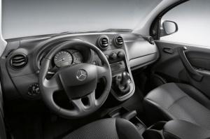 Wnętrze jak przystało na trójramienną gwiazdę  / foto: Mercedes-Benz
