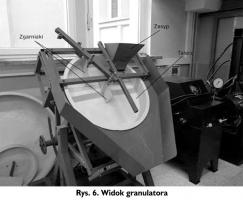 Rys. 6. Widok granulatora