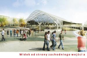 Widok od strony zachodniego wejścia (Fot. UM Łódź)
