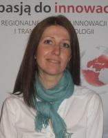 Joanna Niemcewicz, dyrektorka RCIiTT: <i>Wychodzimy z założenia, że to właśnie ze związku nauki z biznesem powstaje najwięcej kreatywnych rozwiązań.</i>