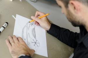 Pierwsze kształty Nowego Clio, fot. © MOUNOURY, JeanChristophe Renault Design