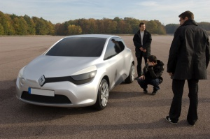 Makieta Nowego Clio, fot. © MOUNOURY, JeanChristophe Renault Design