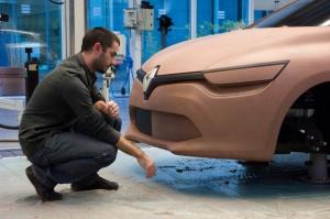 Studium designu Nowe Clio, fot. © MOUNOURY, JeanChristophe Renault Design