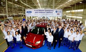 Jubileusz produkcyjny Forda przypadł na nową fabrykę firmy w Tajlandii / foto: Ford