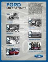 Kamienie milowe Forda w ciągu 109 lat firmy / foto: Ford