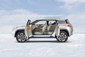 Nissan TeRRa - na razie tylko koncept / foto: Nissan