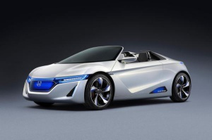 Honda pokaże elektrycznego sportowca EV-Ster / foto: Honda