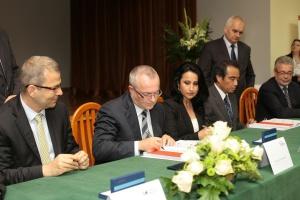 Enea Wytwarzanie podpisała z konsorcjum Hitachi Power Europe GmbH oraz Polimex-Mostostal umowę na budowę nowego bloku energetycznego - poinformowała Enea Wytwarzanie. fot. Enea Wytwarzanie