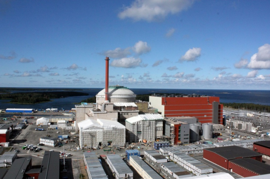 Budowa bloku jądrowego Olkiluoto III o wartości 3 mld euro dobiega końca. Fot. Areva