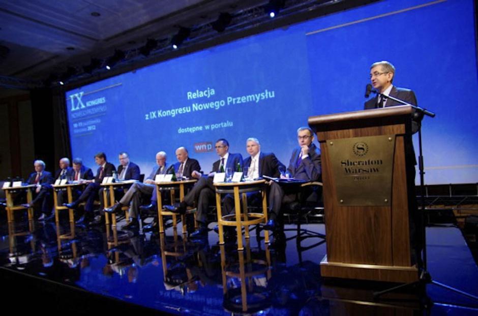 Zdjęcie numer 1 - galeria: IX Kongres Nowego Przemysłu. Przyszły, docelowy, pożądany - kształt sektora energetycznego w Polsce