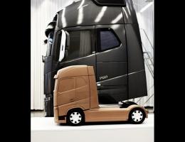 Gliniany model nowego Volvo FH. / foto: Volvo Trucks