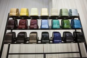 Paleta kolorów, którą posługiwali się projektanci / foto: Volvo Trucks