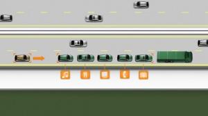 Przez okres trzech lat budowano pojazdy testowe, systemy łączności pojazd-pojazd i czujniki umożliwiające kontrolowanie pojazdów znajdujących się w najbliższym otoczeniu / foto: Volvo Trucks