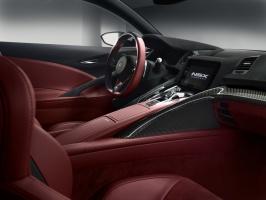 Propozycja wnętrza NSX / foto: Honda