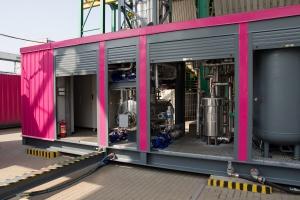 Tauron w Łaziskach uruchomił instalację do usuwania CO2