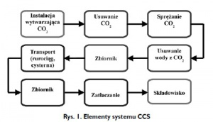 Rys. 1. Elementy systemu CCS