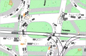 1.Mapa zdarzeń drogowych