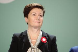 Komornik wszedł na konta Gronkiewicz-Waltz