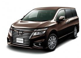 Poprawiony Nissan Elgrand. fot. Nissan