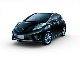 Specjalna edycja elektrycznego Nissana LEAF. fot. Nissan