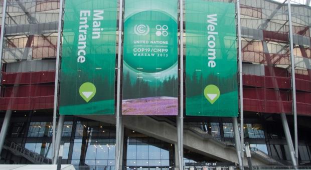 Obrady COP 19 na Stadionie Narodowym w Warszawie