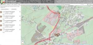 Zrzut 4. Efekt wyszukiwania w danych adresowych OpenStreetMap na przykładzie stacji kolejowej Wrocław Psie Pole.