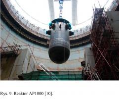 Rys. 9. Reaktor AP1000 [10].