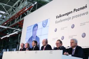 Informację przekazano we wtorek w Poznaniu w siedzibie firmy Volkswagen Poznań.