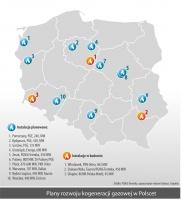Plany rozwoju kogeneracji gazowej w Polscet